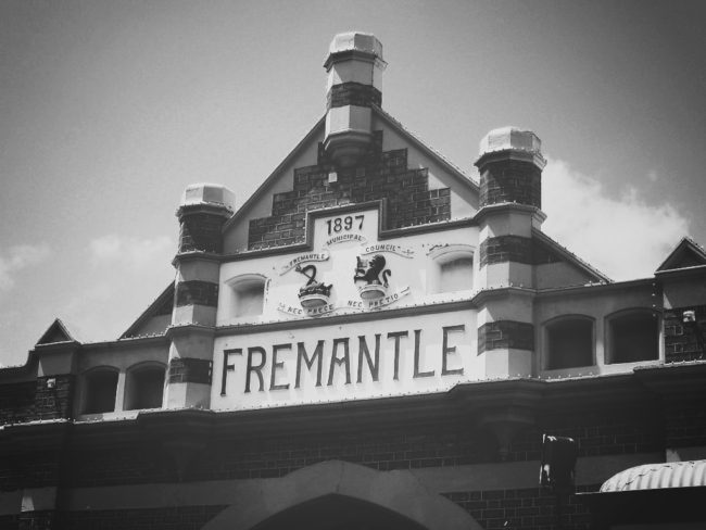 Fremantle Markets Signage